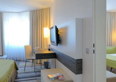 Mercure Hotel Koblenz Familienzimmer Verbindungstür