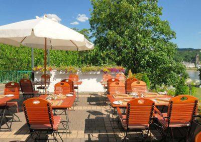 Mercure Hotel Koblenz Terrasse