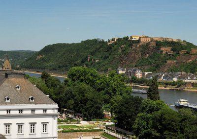 Koblenz Festung Ehrenbreitstein