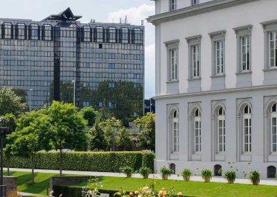 Mercure Hotel Koblenz Aussenansicht Schlossgarten