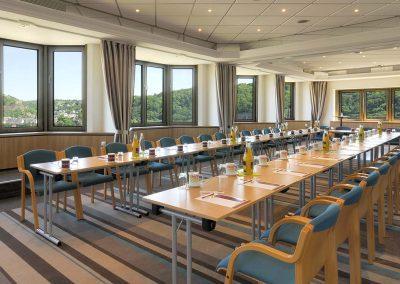 Mercure Hotel Koblenz Tagungsraum mit Aussicht